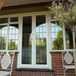 Aluminium french doors can be made larger and taller than other doors and offer maximum light into your home.