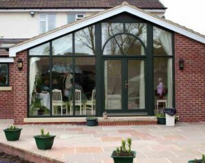 Bifolding doors and windows are a great product for integral blinds.