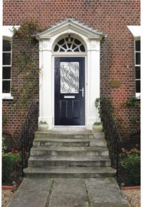A composite door offers low maintenance, exceptional security and a huge colour and style choice.