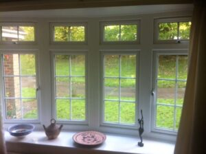 Today's modern double glazing comprises very advanced glass