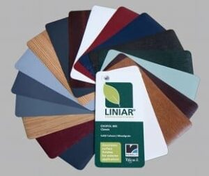 Choose from top quality Renolit foils in standard colours or wood effects.