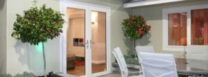 All our doors can open in or out, and couple to windows and screens.