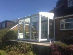 Even the smaller glazed extensions can be useable, functional and comfortable all year round.