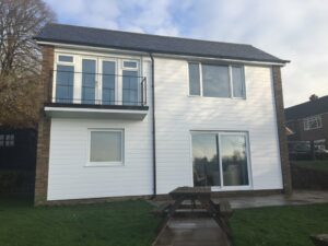 This older property has been refreshed with brand new energy efficient windows and cladding.